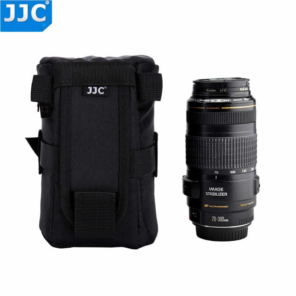Jjc di Nylon Caso di Lusso Acqua-Resistente Protezione Obiettivo per Sony A5000 A5100 A6000 Canon 1300D Nikon D7200 P900 d5300 Dslr