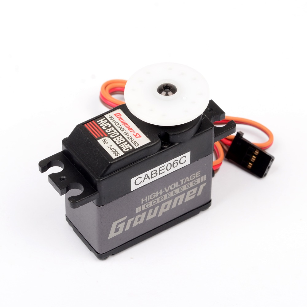 купить Graupner HVC 870 BBMG Torque 20mm HV CL Digital Servo Digital Micro Servos for RC Helicopter Airplane недорого