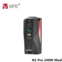 Original Vaptio N1 Pro 240W LITE Mod Electronic Cigarette vape mod with 0.91inch OLED Screen Support VW 18650 Battery fit TFV8