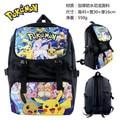 Anime Pokemon de Impresión Mochilas Escolares Niños Lindos Bolsos de Estudiantes Mochila Mochila Escolar
