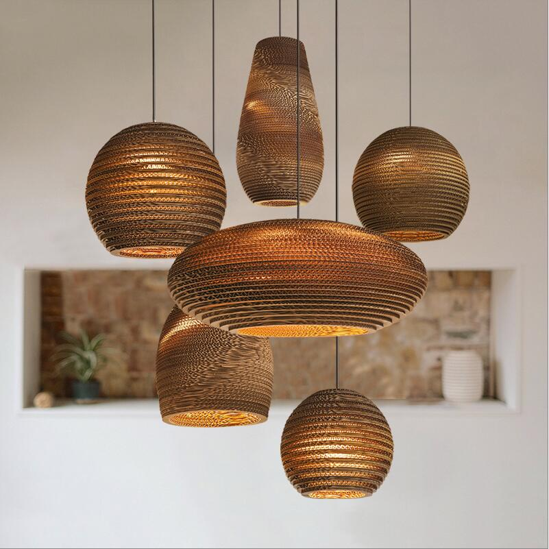 Lights & Lighting Lovely Modern Bamboo Work Hand Knitted Bamboo Pendant Lamp Good Price Pendant Lamp With Bamboo Shades For Dinning Room Pendant Lights