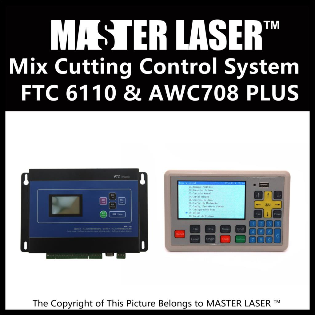 Qualified Products Metal and Non-metal Mixed Cut Head Motion Control System for CO2 Laser Cutting Machine Laser Heads