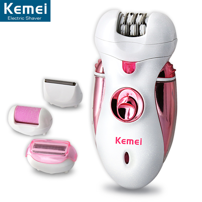 KEMEI Rechargeable Women Shave Wool Device font b Knife b font Electric Shaver Hair clipper Wool