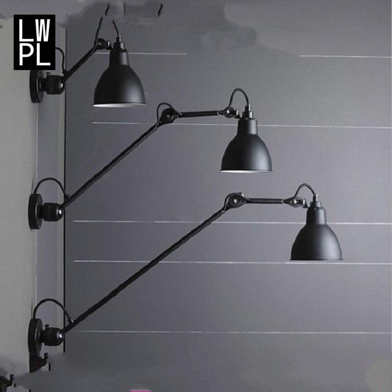 100% Kwaliteit Postmodern Eenvoudige Wandlamp Nordic Hotel Creatieve Indoor Home Led Lamp Bed Lichten Armatuur Industriel Decor Muur Verlichting Straatprijs