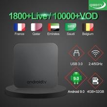 IPTV France Arabic KMP Pro IP TV French Belgium Algeria UK Morocco Netherlands 1 year QHDTV Code