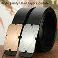 2016 Nuevo Diseñador de Moda Cinturón de Los Hombres de Alta Calidad de la Marca de Lujo Cinturones de Cuero genuino Para Los Hombres Wasit Cinturones Para Las Mujeres Unisex cinturón