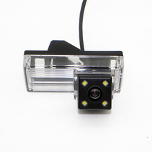 цена на For Toyota Land Cruiser LC 120 LC120 Prado 2002~2009 / Wired  4LED Night Vision  enhancement Rear View Camera/ HD Wide Lens Angl