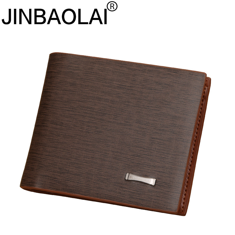 Small Slim Famous Brand Handy Portfolio Leather Men Wallet Purse Male Clutch Bag With Money Portomonee Walet Cuzdan Vallet Perse 1