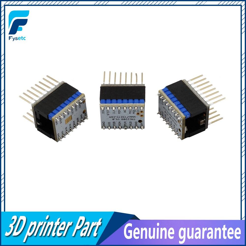 5 set TMC2100 V1.3 TMC2130 TMC2208 Silenzioso Eccellente Stabilità Stepper Motor Driver StepStick Mute con Protezione Stepper Driver