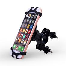 Универсальный силиконовый держатель для телефона на мотоцикл и велосипед для iphone 8 7 6s для XIaomi, магнитный стенд, держатель на руль с держателем для GPS