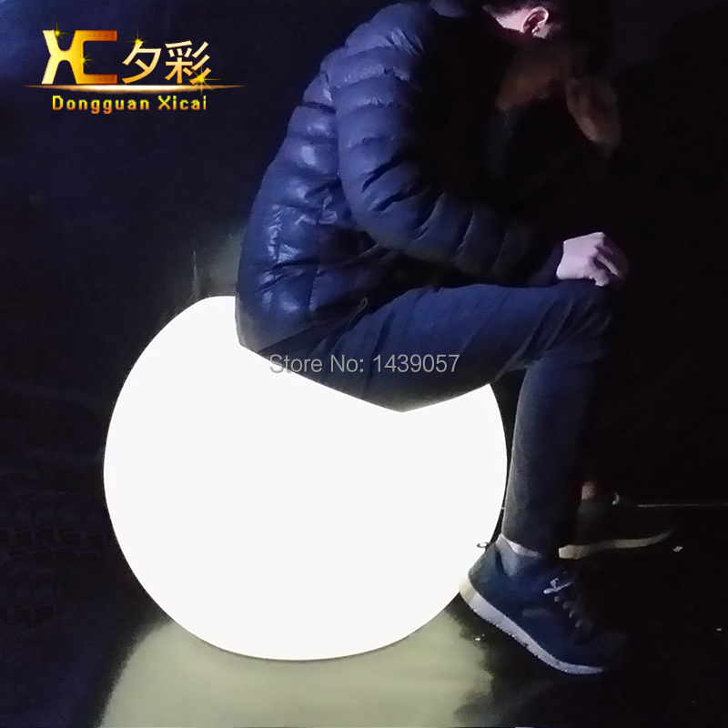 LED Living Room Sofa Color Changing Single Person Plastic Couch Bar Stool Drinking Chiar For Dining Room Garden Swimming Pool led luminous bar table plastic color changing coffee dining room garden drinking tables