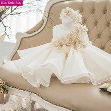 ; Новинка года; короткое праздничное платье для маленьких девочек на День рождения; Платья с цветочным узором для маленьких девочек на свадьбу