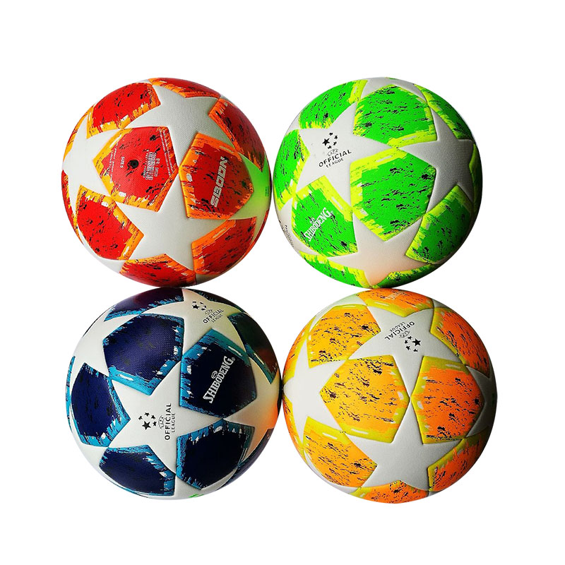 Explosion proof Size 5 Professional Trainning Football Soccer ball Sewing Association Football Match Outdoor sport Game footy