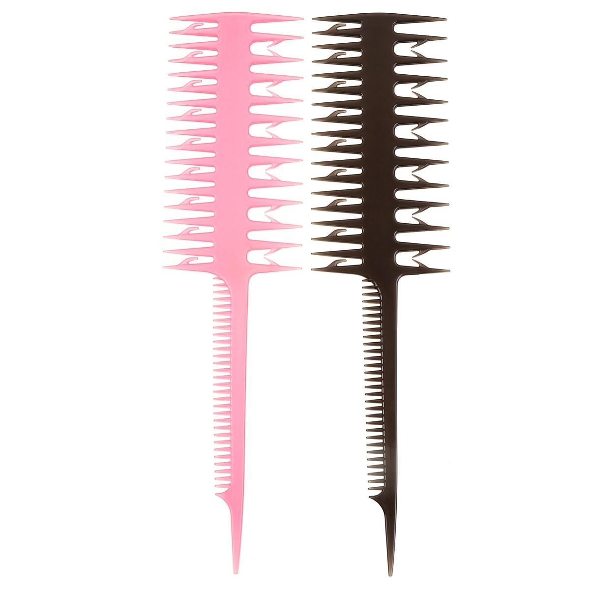 1 Pcs Salon Professional Tint Dye Highlighting Comb Fish