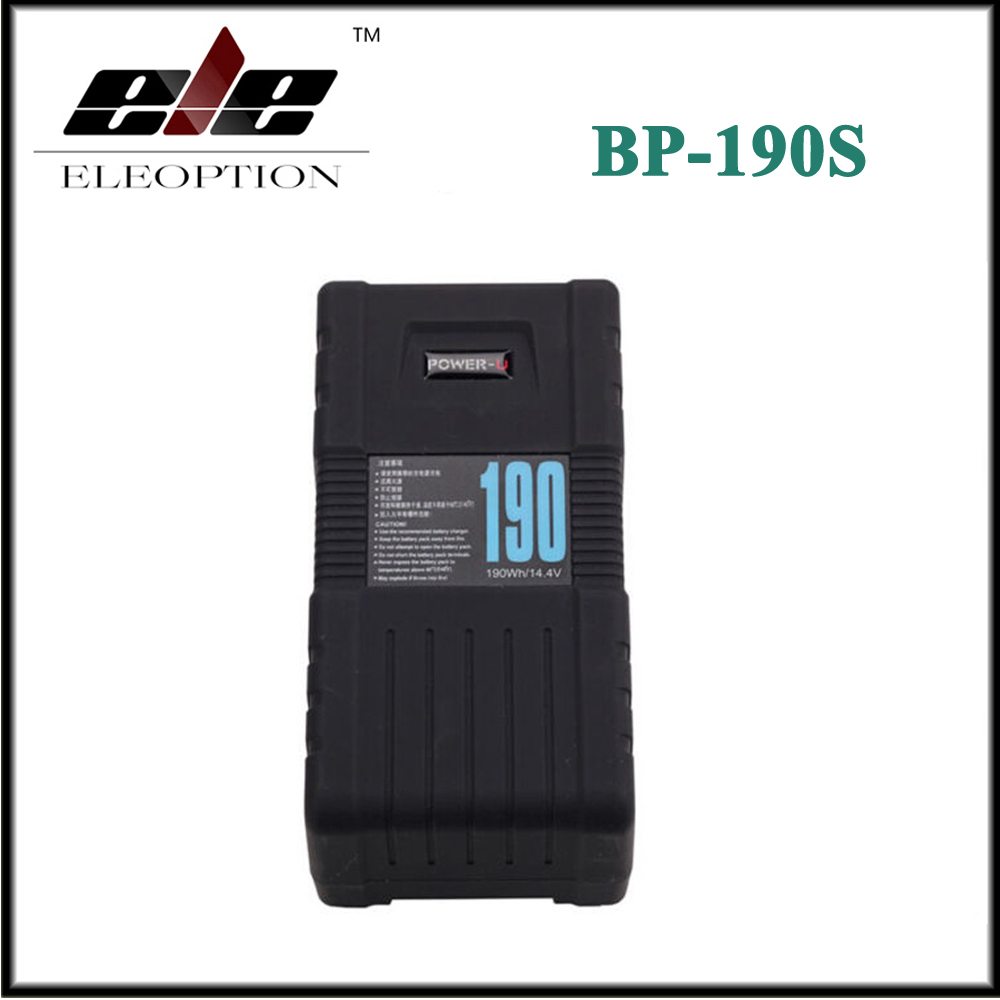 Eleoption BP-190S POWER-U 190Wh V-Mount Li-ion Battery For SONY RED ONE ALEXA high quality bp 130s 130wh power u 14 8v 130w v mount li ion battery for sony 600p 650p