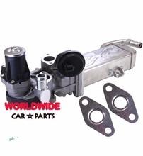 For VW Scirocco 2.0 TDI EGR Cooler and EGR Valve 03L131512AP 03L131512DQ 03L131512CF 03L131512AT 03L131512BB 03L131512BJ