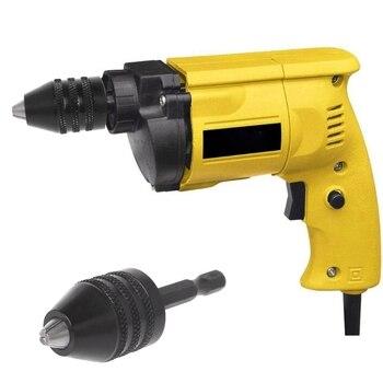 цена на 1/4 Keyless Drill Bit Chuck Hex Shank Adapter Converter Quick Change 0.3-8mm
