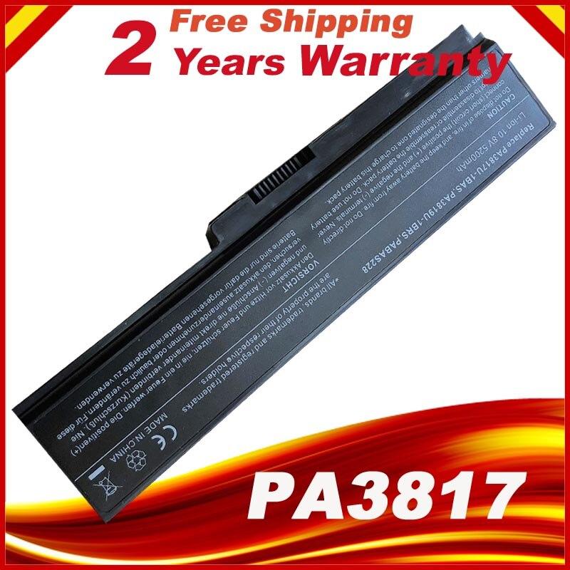 Bateria do portátil Para TOSHIBA Satellite L645 L655 L700 L730 L735 L740 L745 L750 L755 PA3817 PA3817U PA3817U-1BRS 3817