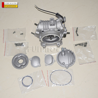 CYLINDER HEAD AND VALVE PARTS SUIT FOR HISUN 400 6ATV CARBURETOR MODEL