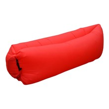 Inflatable Air Sofa Over 200Kg 201T Oxford Sleeping Bag Outdoor sofa red Lazy Bag Air Bed Couch Chair Inflatable Lounge