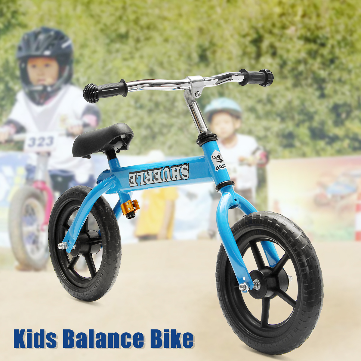 12 inch Child Balance Bike Scooter Baby Walker Scooter 3-6 Years Old Baby No Foot Pedal Kids Riding Toys Children Driving Bike factory outlet 10inch baby balance bike with adjust handle no pedal kids bike pink baby balance bike with asjust seat