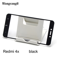 Wangcangli Wholesale 50pcs Hard Edge For Xiaomi Redmi 4 4x 4pro Protective Glass Screen Protector Glass