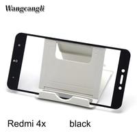 Wangcangli 50pcs Hard Edge Protective Glass For Xiaomi Redmi 4 4x 4pro Screen Protector For Xiaomi