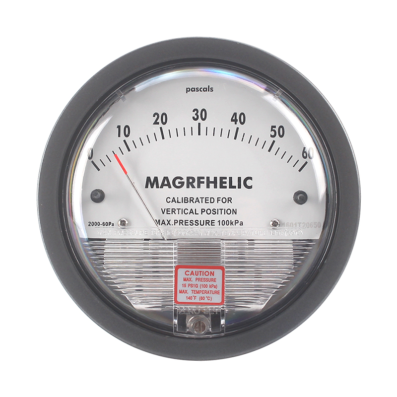 Micro Differential Pressure Gauge differential meter differential pressure negative pressure meter BarometerTE2000/0-100PA цена