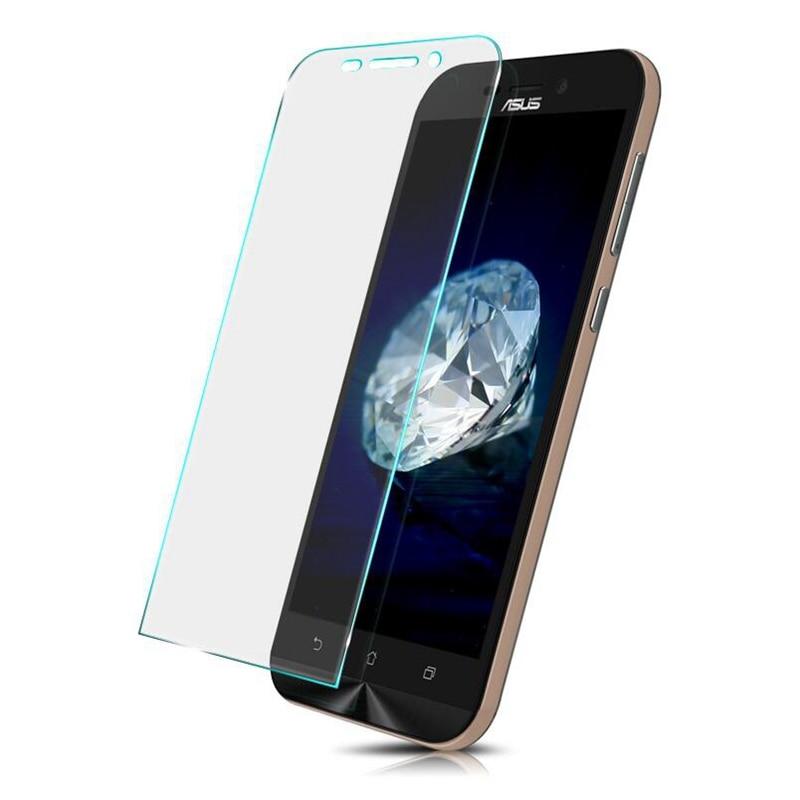 Tempered Glass For Asus Zenfone 2 3 Laser ZE500KL ZE550KL ZE601KL C 4 5 Selfie GO Max ZE520KL ZC520TL ZB500KL Screen Film Case