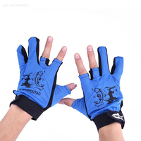 Unisex 3 Cut Fingers Gloves For Fun