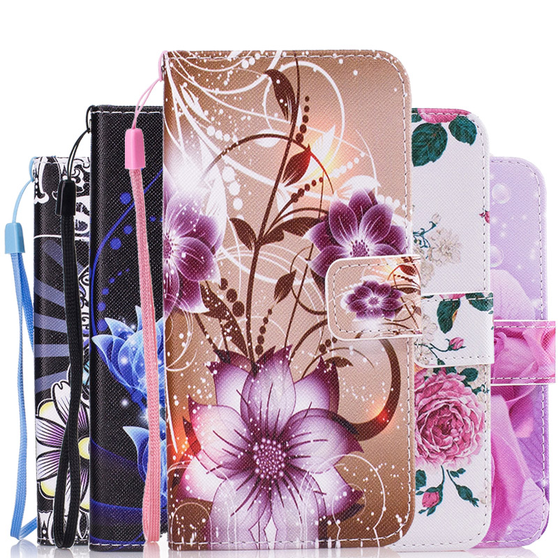 Fashion Leather Flip Cover Wallet Case For <font><b>Samsung</b></font> Galaxy J3 2017 J330F/<font><b>DS</b></font> J5 2017 <font><b>J530F</b></font> J7 2017 Rose Phone Shell Bags Coque image