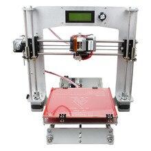Долговечность Geeetech Алюминиевый Prusa I3 3d-принтер DIY kit Multi нити совместимость Простота Эксплуатации Новых