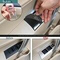 Tonlinker Чехол-Наклейка для TOYOTA corolla 2014-17 автомобильный Стайлинг 4 шт из нержавеющей стали двери окна лифт кнопка крышка наклейка