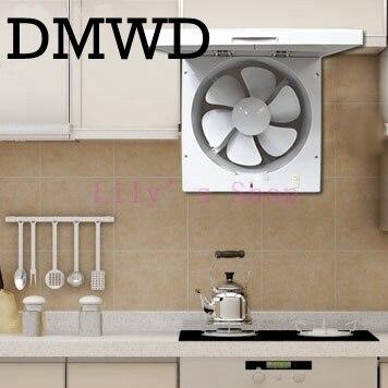 Kitchen Ventilator fan 10 inch air volume smoke exhaust fan wall window type 40W exhaust fan toilet portable hoods bpt10 22 h25 ventilator fan bathroom window exhaust fan toilet bathroom wall silent exhaust fan 220v 18w panel size 300 300mm