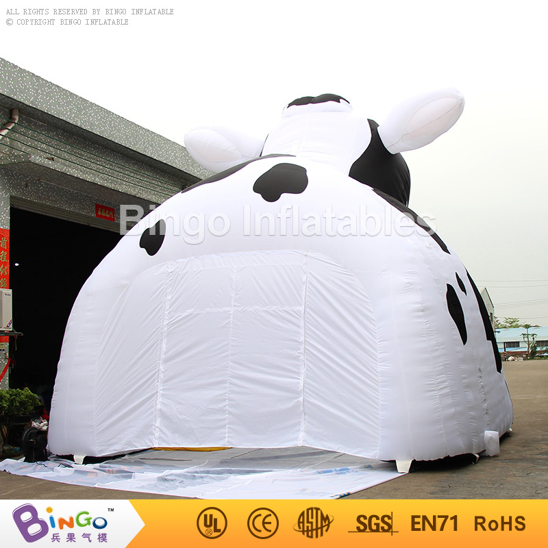 Free Express air supported structure inflatable milking cow tent tunnel toy tent-in Toy Tents from Toys u0026 Hobbies on Aliexpress.com | Alibaba Group & Free Express air supported structure inflatable milking cow tent ...