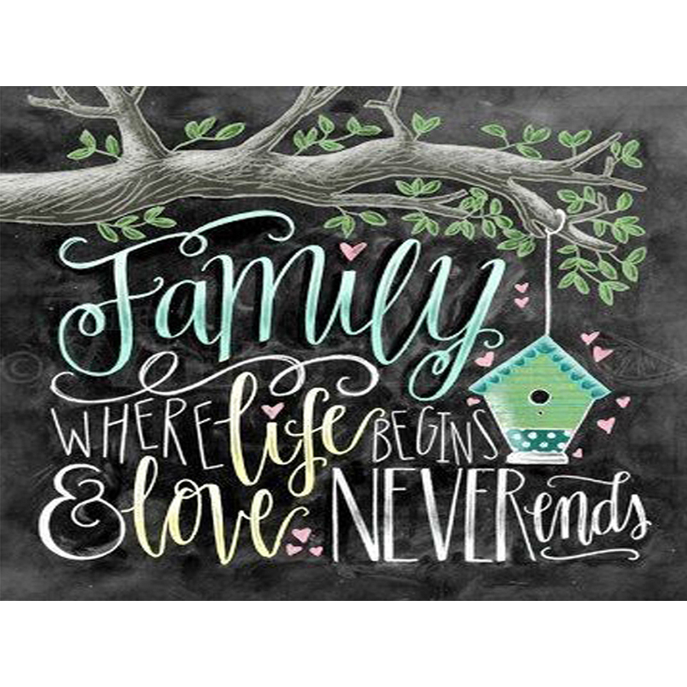 DIY 5D Diamond Painting Scenery Tree Full Drilling Drawing Diamond Embroidery Cross Stitch Home Decoration Christmas Gift