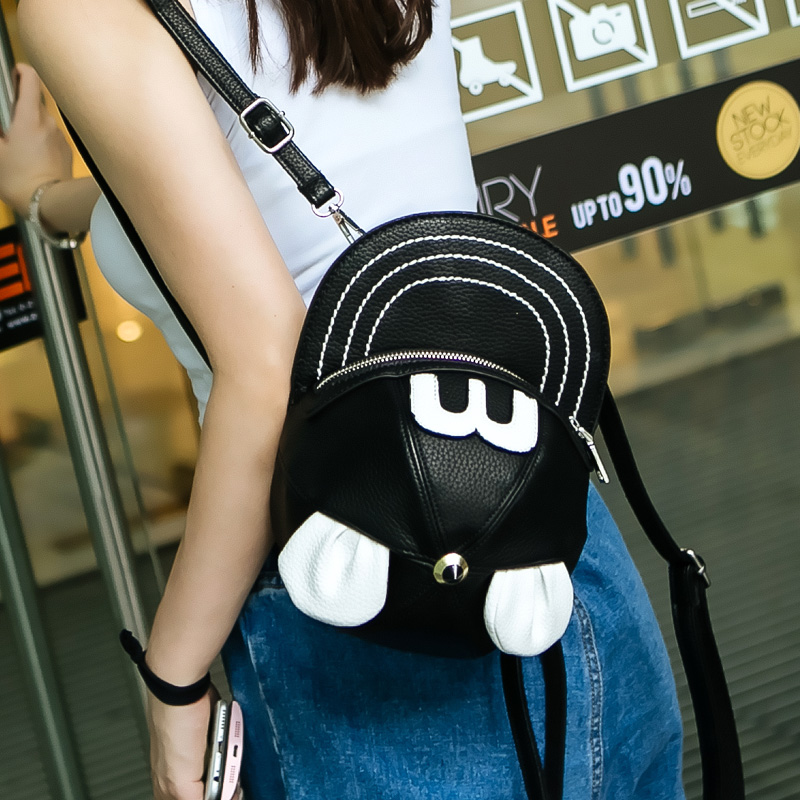 2017 new backpack hat summer fashion personality fashion shoulder bag