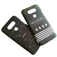 Dostosuj 3d obudowy telefonów pokrowce na LG G3 G4 STYLUS 2 Q6 Q8/V20 mini komórek powłoki spersonalizowane twardego plastiku telefon komórkowy skrzynki pokrywa