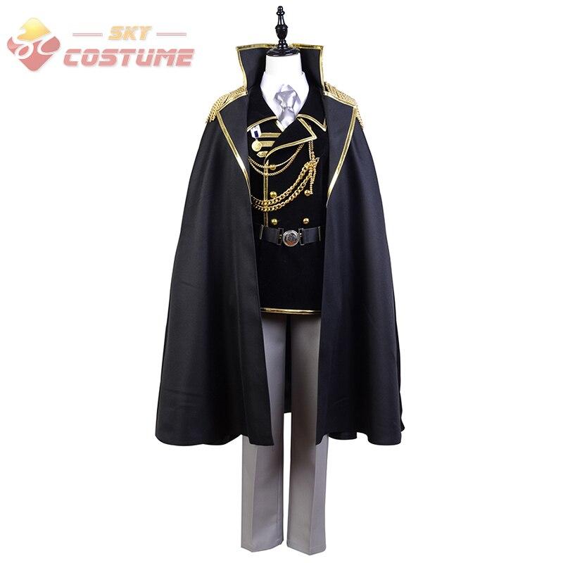 K Return of Kings Isana Yashiro Military Uniform Cosplay Costume New Arrival