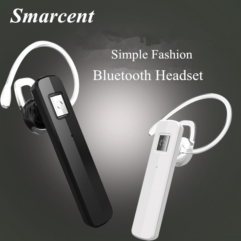 Smarcent i7 Mini Bluetooth Headset Ear Hook  Earphone Handsfree Wireless Headphone with Microphone for iPhone 7 7Plus Xiaomi/LG boas car driver bluetooth earphone wireless handsfree handphone base charger dock in ear hook headset with mic for iphone xiaomi