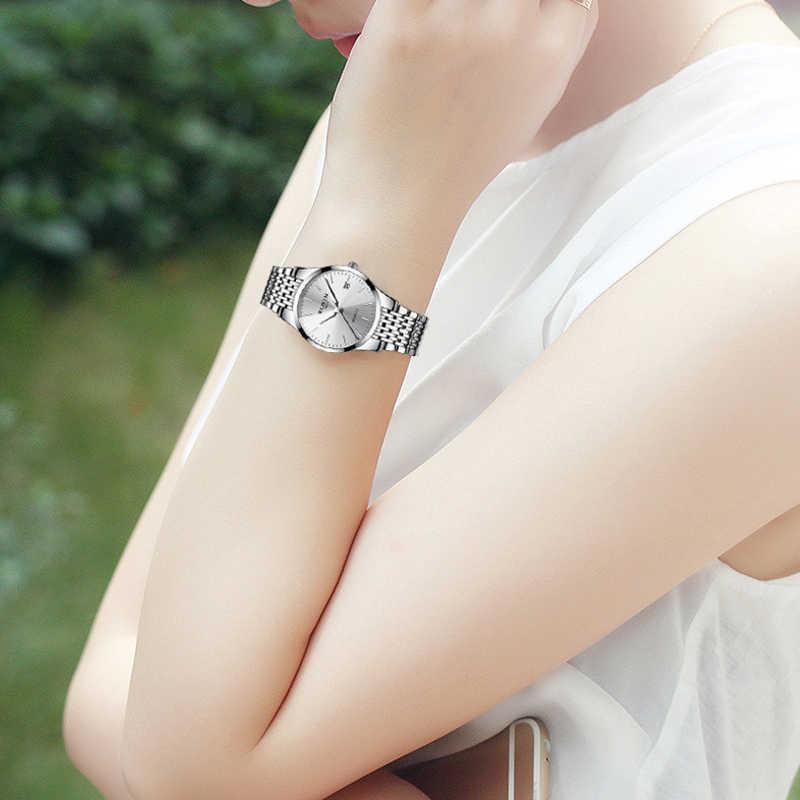 Новый Relogio Masculino Мода Blu-Ray стекло любителей смотреть для мужчин водостойкие кварцевые часы женщина бизнес часы бренд часы пара