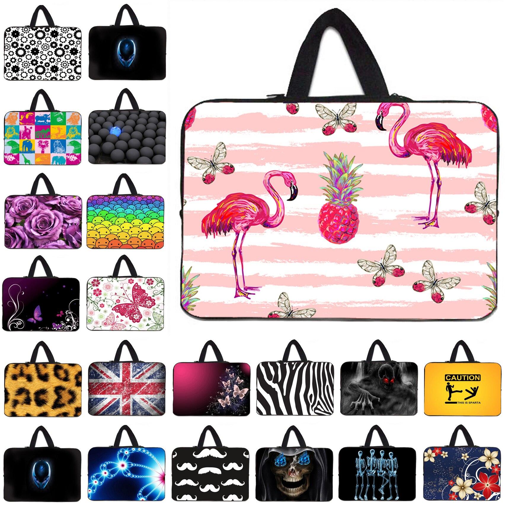 Tablet Netbook Nylon Inner Cases Bag For Women 10 10.1 12 13 13.3 14 15.4 15.6 17 inch Laptops Shell Pouch Bags For Macbook iPad
