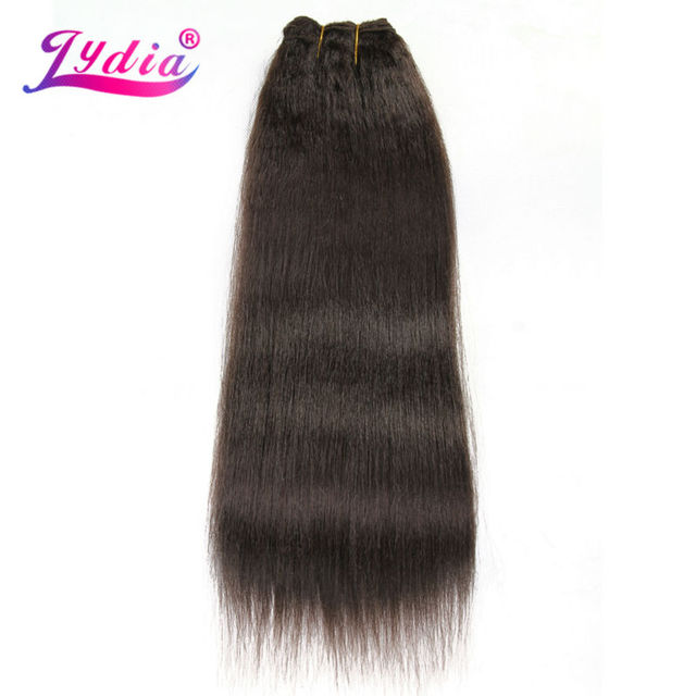 Lydia For Women Kinky Straight Wave 12 22 Inch Synthetic Weaving
