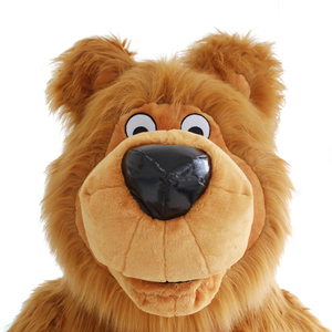 Image 4 - New Arrival 2M 2.6M 3M Inflatable Bear Costume For Advertising Customize Bear Inflatable Mascot Halloween Costume For Adult