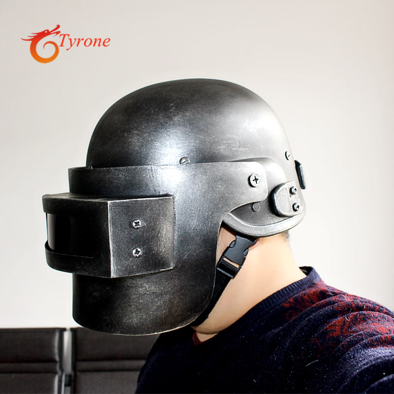 PUBG Game Playerunknown's Battlegrounds Cosplay Costumes 3 level Helmet Armor Model Can open close cosplay Prop