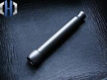 EDC Matte Surface Titanium Alloy Hand-made Threaded Cigarette Holder No Filter Function