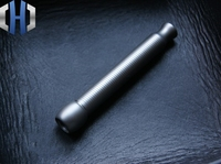 EDC Matte Surface Titanium Alloy Hand made Threaded Cigarette Holder No Filter Function