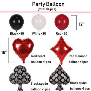 Image 4 - 87 Chiếc Vòng Bạc Cho Tiệc Tiếp Liệu Bộ Sòng Bạc Bóng Cao Su Xi Las Vegas Các Bữa Tiệc Theo Chủ Đề Trang Trí Tiệc Sinh Nhật Người Lớn