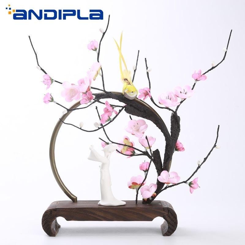 Zen Style Buddha Incense Burner Stick Holder Smoke Backflow Cone Incense Furnace Base Metal Circle Retro Home Decor Crafts Gifts