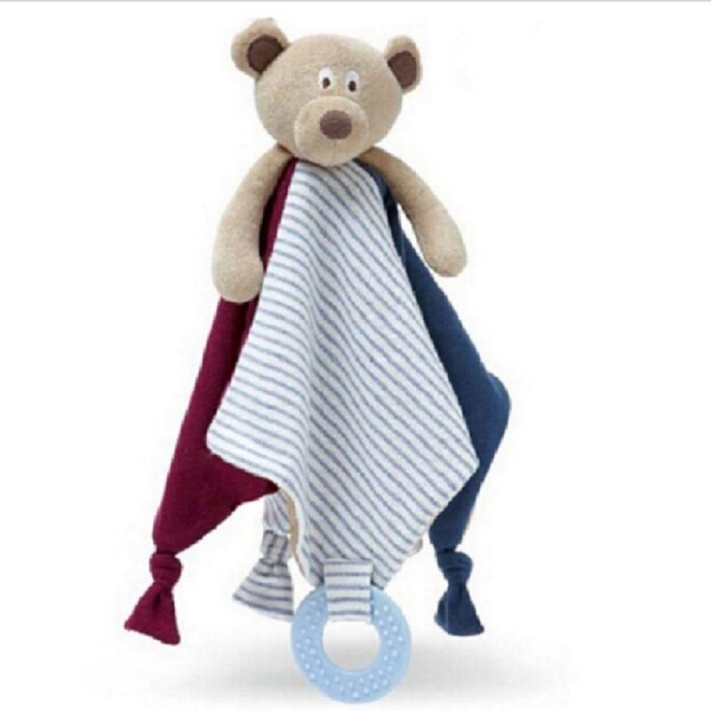 חמוד קטיפה קריקט דוב שמיכה צעצועים בייבי מוסיקלי ערש מוביילים צעצוע רך מחרטת ילדים רטל בייבי ליווי המיטה בובה appease